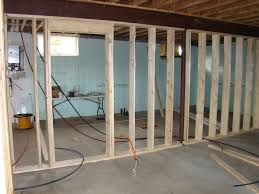 How To Properly Finish A Basement Inspirations Impressive All American Dream House Framing A