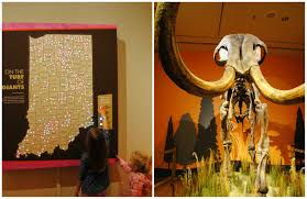 Ice Age Interactive Map My Blog by Visit Indy Ice Age Giants At The Indiana State Museum