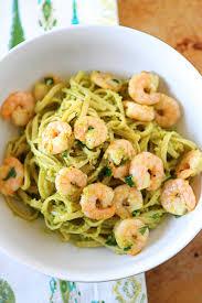 Dinner Ideas With Shrimp And Pasta Shrimp U0026 Avocado Pasta Recipe Shrimp Pasta Pasta And Avocado