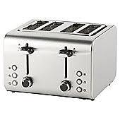 Cream 4 Slice Toaster Toasters Small Kitchen Appliances Tesco