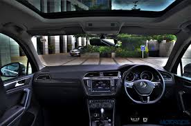 volkswagen tiguan interior new volkswagen tiguan india review price specs mileage image