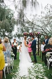 Wedding Flowers Sunshine Coast Noosa Wedding Style With Lovebird Weddings At Sails Restaurant