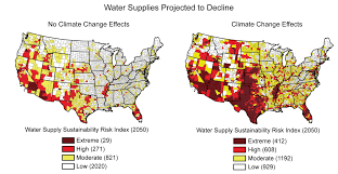 Usa Fracking Map by Water Supplies Projected To Decline U S Climate Resilience Toolkit