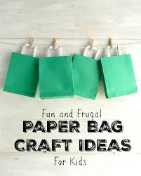 fun and exciting paper bag crafts for your kids in the playroom