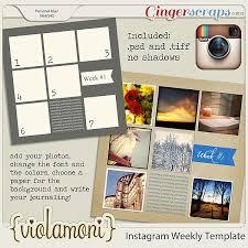 templates for scrapbooking 97 best instagram scrapbooking images on digital
