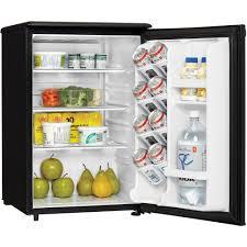 kitchen black walmart mini fridge with glass mini fridge and