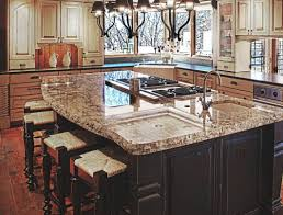 Free Standing Kitchen Island With Breakfast Bar Amazing Picture Of Mabur Inviting Prominent Endearing Inviting