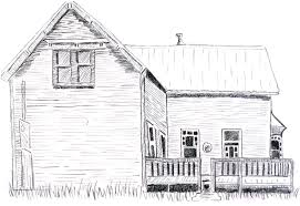 old house learning to draw
