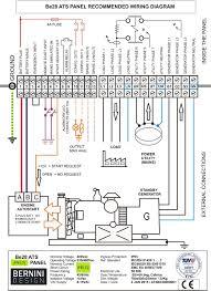transfer switch in generator manual switch wiring diagram