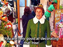 Buddy The Elf Christmas Decorations The Popular Christmas Decorations Gifs Everyone U0027s Sharing