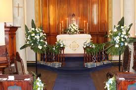 church wedding flower decorations seasoanal events 2608