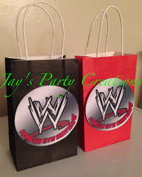 personalized halloween treat bags wwe personalized party favor goody bags jays party creations