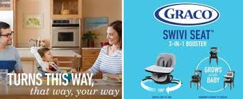 How To Fold A Graco High Chair Graco Swiviseat High Chair Booster Target