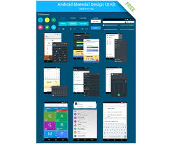 android user android ui kit free android user interface for your web