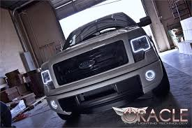 2012 ford f150 projector headlights 2009 2014 ford f150 raptor oracle halo kit
