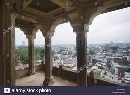 view of datia city from the balcony on the second floor of datia