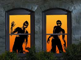 100 halloween window silhouettes halloween window