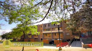 brampton apartments for rent video 80 orenda court youtube