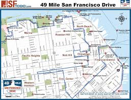 san francisco hotel map pdf scenic 49 mile drive