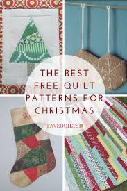 214 best free christmas quilt patterns images on pinterest