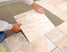 laying tile floor beautiful peel and stick floor tile of how to