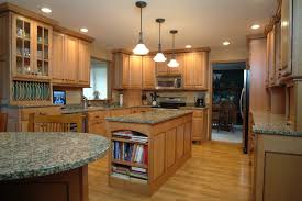 Black Walnut Kitchen Cabinets Recently Quarter Sawn Oak With Black Walnut Accents Traditional