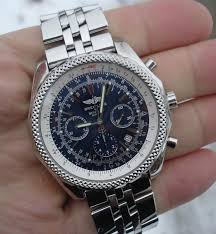 bentley rolex breitling bentley special edition a25362 blue dial topnotch watch