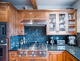 shaker style custom kitchen cabinets with granite counter gary