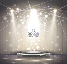 Shiny Light Designs Shiny Stage Spotlights Design Elements Vector 04 Vector Other