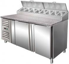Refrigerated Prep Table by Pizza Prep Table Stainless Steel Refrigerated Sh 1500 Saro