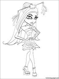 jinafire long monster coloring coloring pages 2