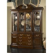 Cherry China Cabinets Fine Furniture Design Breakfront Cabinet Ff