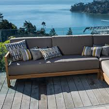 Teak Sectional Patio Furniture Tiburon Teak Sectional Archives Terra Patio