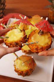 pineapple margarita mini pineapple margaritas how to make mini pineapple margaritas