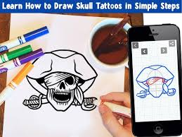 how to draw skull tattoos apk version app for