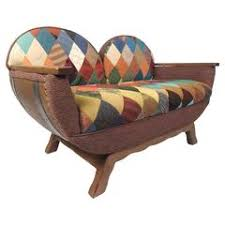 Mission Style Loveseat American Rustic Old Hickory Mission Style Settee For Sale At 1stdibs