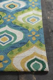 modern home decors area rugs wonderful blue and green area rugs attractive on