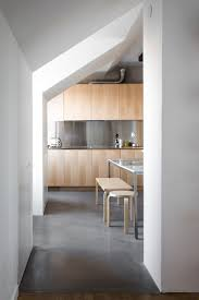 146 best modern kitchen images on pinterest modern kitchens a kitchen of natural wood and steel