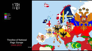 Flags Of Eastern Europe Timeline Of National Flags Europe 1444 2015 Youtube