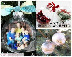 14 trendy ways to decorate clear ornaments craft paper scissors
