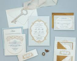 Wedding Stationery Sets Vintage Rustic Wedding Invitations With A Modern By Bdesignspaper