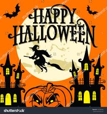 halloween illustrations happy halloween vector illustration stock vector 312469724