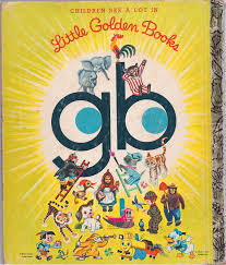 retro educational technology golden books