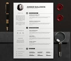 Modern Resume Templates 7 Best Modern Resume Template Images On Pinterest Cover Letters