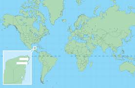 map of equator mapchick maps where is cancun