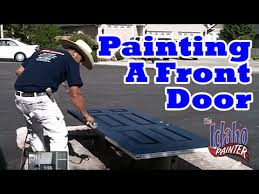 how to paint your front door in one day how to paint a door diy
