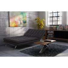 dhp madison dark gray futon 2084427 the home depot