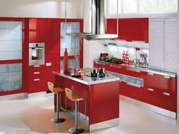 red kitchen islands photos decorating kitchen in red color u2014 smith design