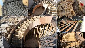 various type of formwork for curved concrete stairs engineering feed