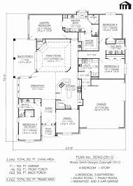 5 bedroom 4 bathroom house plans 1 story house plans inspirational modest decoration 5 bedroom